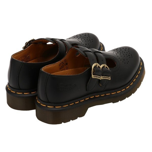 【即納】ドクターマーチン Dr. Martens ユニセックス ローファー・オックスフォード シューズ・靴 8065 MARY JANE SHOES Black|ef-3|02