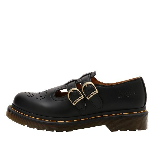 【即納】ドクターマーチン Dr. Martens ユニセックス ローファー・オックスフォード シューズ・靴 8065 MARY JANE SHOES Black|ef-3|03