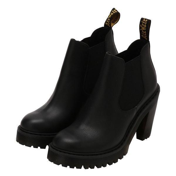 【即納】ドクターマーチン Dr. Martens レディース ブーツ シューズ・靴 HURSTON BOOTS Black|ef-3