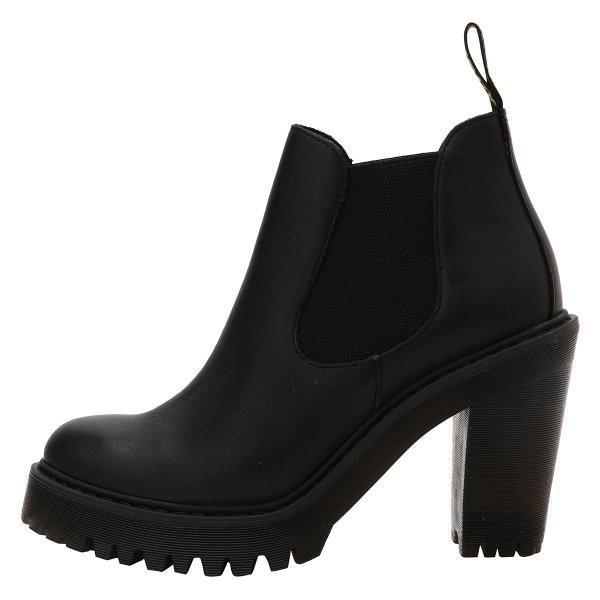 【即納】ドクターマーチン Dr. Martens レディース ブーツ シューズ・靴 HURSTON BOOTS Black|ef-3|03