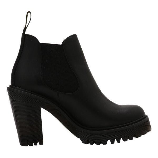 【即納】ドクターマーチン Dr. Martens レディース ブーツ シューズ・靴 HURSTON BOOTS Black|ef-3|04