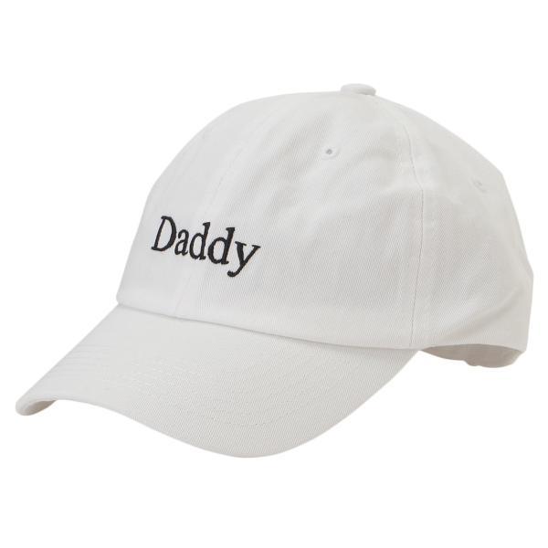【即納】アーバンアウトフィッターズ Urban Outfitters ユニセックス キャップ 帽子 Daddy Baseball Hat White ダッドハット ロゴ刺繍 ef-3