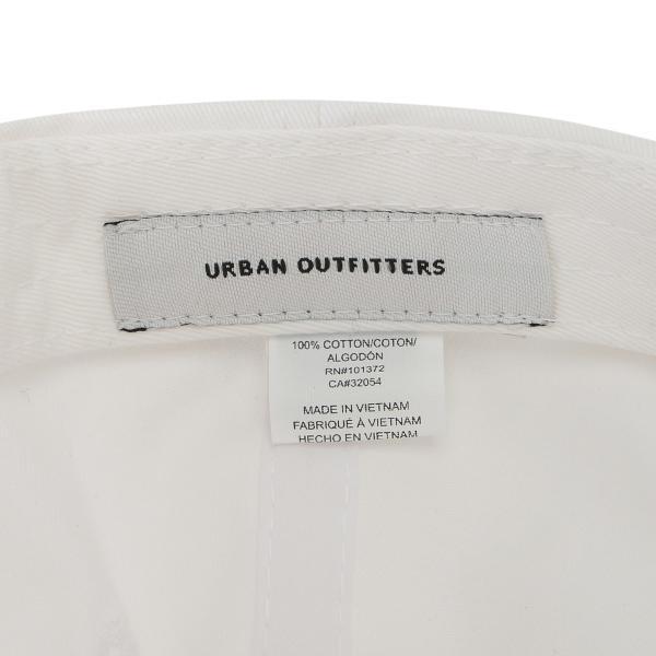 【即納】アーバンアウトフィッターズ Urban Outfitters ユニセックス キャップ 帽子 Daddy Baseball Hat White ダッドハット ロゴ刺繍 ef-3 05