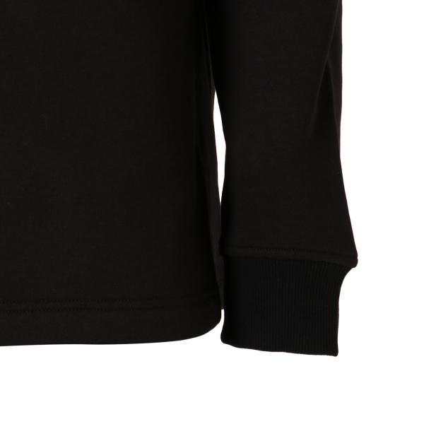 【即納】カルバンクライン Calvin Klein メンズ スウェット・トレーナー トップス MONOGRAM TAPE 1/4 ZIP BLACK モノグラム ロゴ ハーフジップ ef-3 06