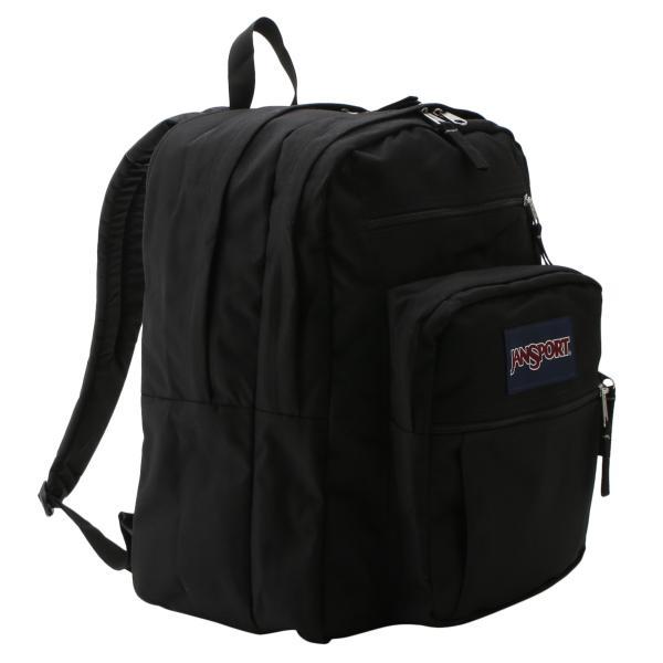 【即納】ジャンスポーツ JanSport ユニセックス バックパック・リュック バッグ BIG STUDENT BAG BLACK 通勤 通学 ビッグスチューデント|ef-3