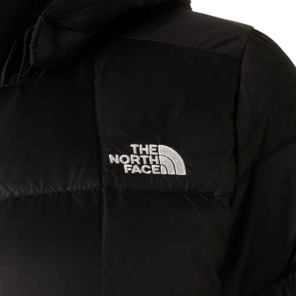 【即納】ザ ノースフェイス The North Face レディース ダウン・中綿ジャケット アウター Metropolis Down Parka BLACK メトロポリス ダウンコート フード|ef-3|04