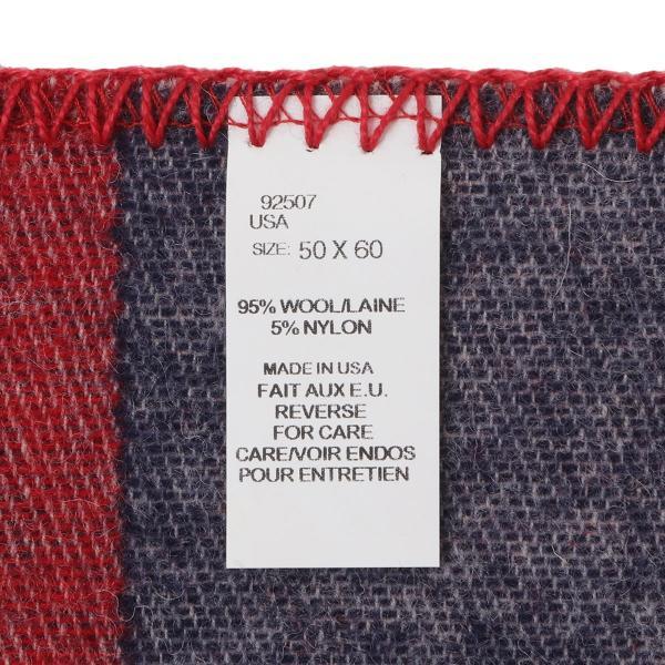 【即納】ウールリッチ WOOLRICH ユニセックス 雑貨 FREEDOM THROW RED/WHITE/BLUE ブランケット アウトドア|ef-3|04
