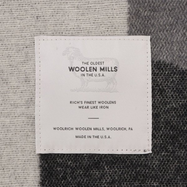 【即納】ウールリッチ WOOLRICH ユニセックス 雑貨 CAMP BLANKET GRAY CAMO ブランケット アウトドア|ef-3|03