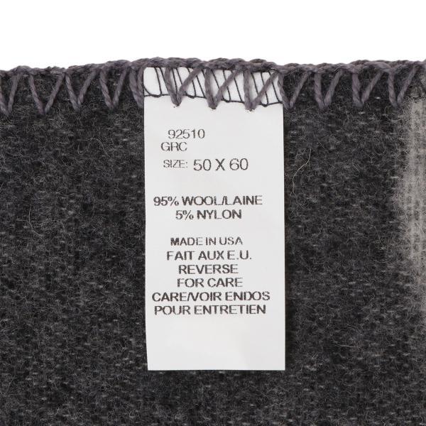 【即納】ウールリッチ WOOLRICH ユニセックス 雑貨 CAMP BLANKET GRAY CAMO ブランケット アウトドア|ef-3|04