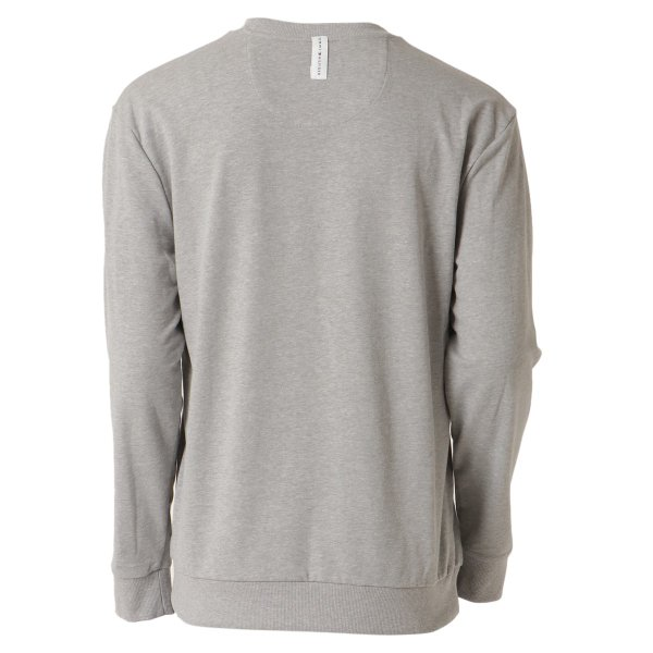 【即納】トミー ヒルフィガー Tommy Hilfiger メンズ 長袖Tシャツ トップス MODERN ESSENTIALS CREW NECK  GRAY HEATHER ロンT ロングT ロゴ プリント|ef-3|02