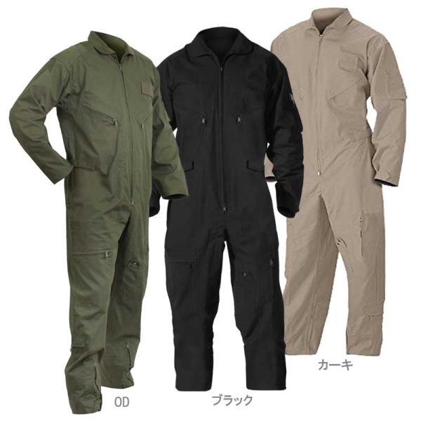 メンズ ミリタリーつなぎ服 エアーフォース仕様 ロスコ フライトスーツ 空軍作業服のレプリカ仕様|efc