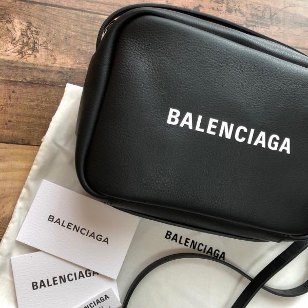 新品 バレンシアガ エブリデイ カメラ バッグ S ブラック 得トクセール