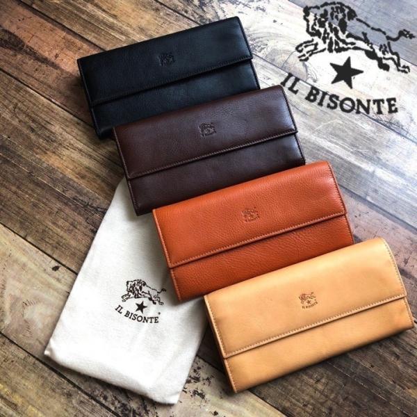 新品 イルビゾンテ IL BISONTE C0918 長財布