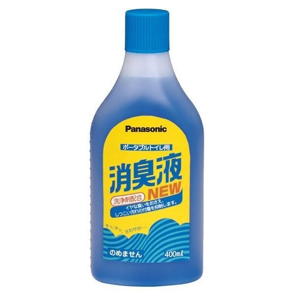 ポータブルトイレ用消臭液(有色)400ml(パナソニックエイジフリー)