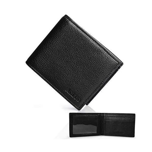 一流の革職人が作る財布メンズ二つ折り本革小銭入れ無し大容量カード14枚紳士天然牛革
