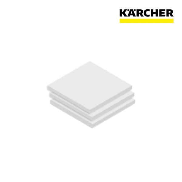ケルヒャー 業務用 掃除機用 モーター 保護 フィルター 3枚  ドライクリーナーT7/1クラシック 用(2.889-119.0)