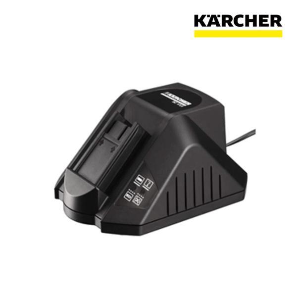 ケルヒャー 業務用 掃除機用 スティック クリーナー EB30/1Pro、ドライクリーナー T9/1Bp、床洗浄機 BR30/4CBp用 充電器 1個 (6.654-199.0)