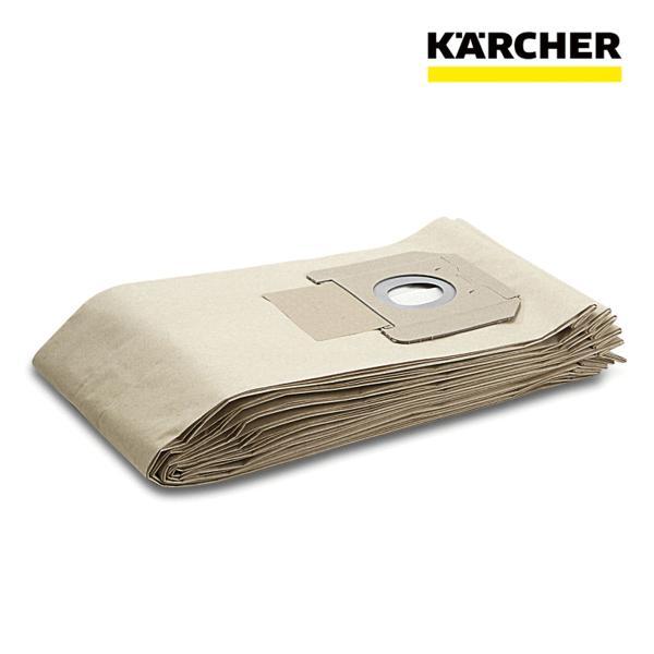 ケルヒャー 業務用 掃除機用 ペーパー フィルターバッグ 5枚 NT45/1Tact、NT55/1Tact用 紙パック ダストバッグ ごみパック (6.904-208.0)