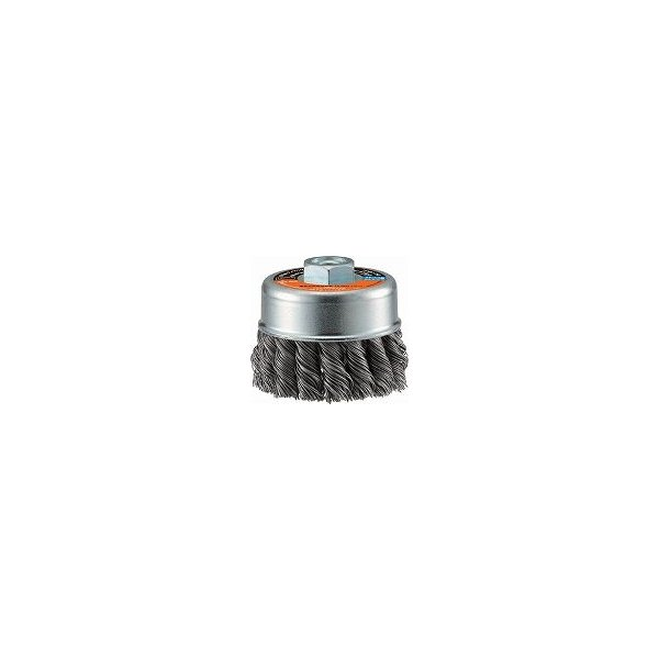 TRUSCO 電動工具用ツイストカップブラシ Φ75 SUS0.5 TCBC75S