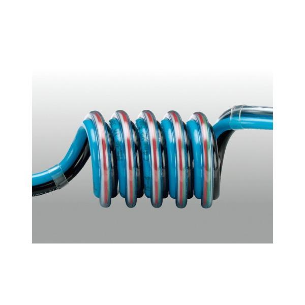 チヨダ スリットスパイラル電線入リ 4mm・使用範囲670mm 3-SSE-4-10