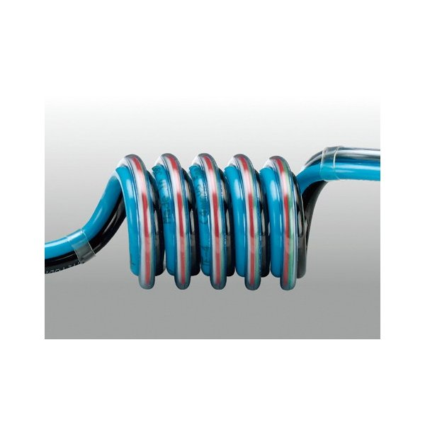 チヨダ スリットスパイラル電線入リ 6mm・使用範囲890mm 3-SSE-6-15