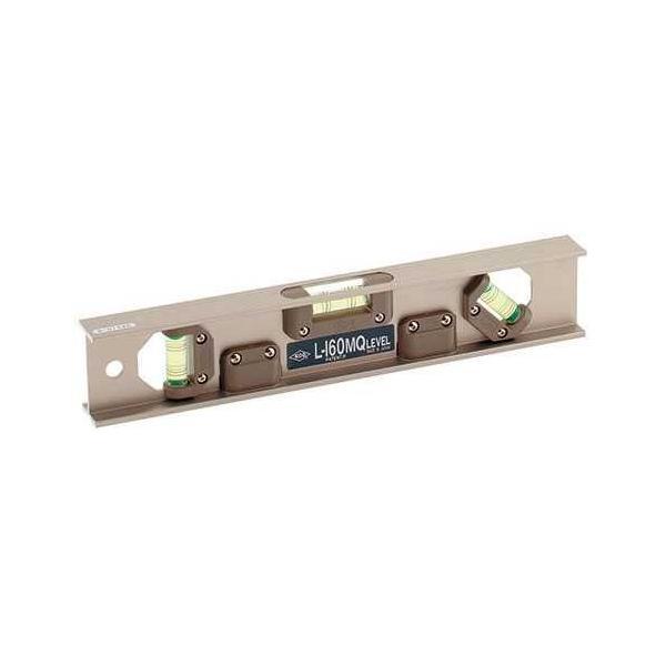 カクダイ アルミ水平器(45度気泡管つき) 649-894-300