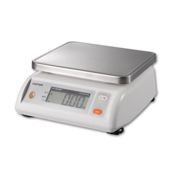 カスタム デジタル自動上皿はかり CS-2000WP