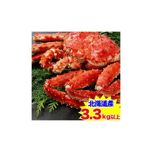 かに カニ 蟹 タラバ蟹 たらば蟹 たらば蟹 タラバガニ | 【北海道産】プレミアムボイルたらばがに姿1杯(3.3kg以上)【送料無料】