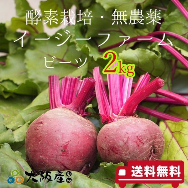 ビーツ 2kg オーガニック 農薬無散布 酵素栽培 自社農場直送 大阪産