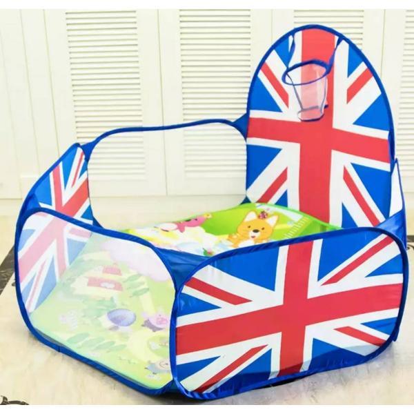 primaveraおりたたみボールプール英国旗デザインおしゃれベビーおもちゃ簡易ベビーサークル出産祝い1歳誕生日プレゼント男女兼用おもちゃ|egl-okinawa|02