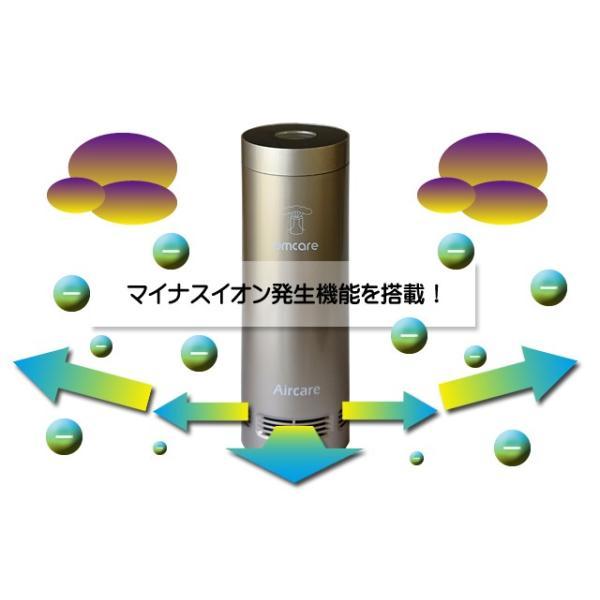 小型空気清浄機 OA005J :空気の状態が「数字」で見える!Agフィルターやマイナスイオンで花粉はもちろん嫌な匂いも抑える!|egmart|02