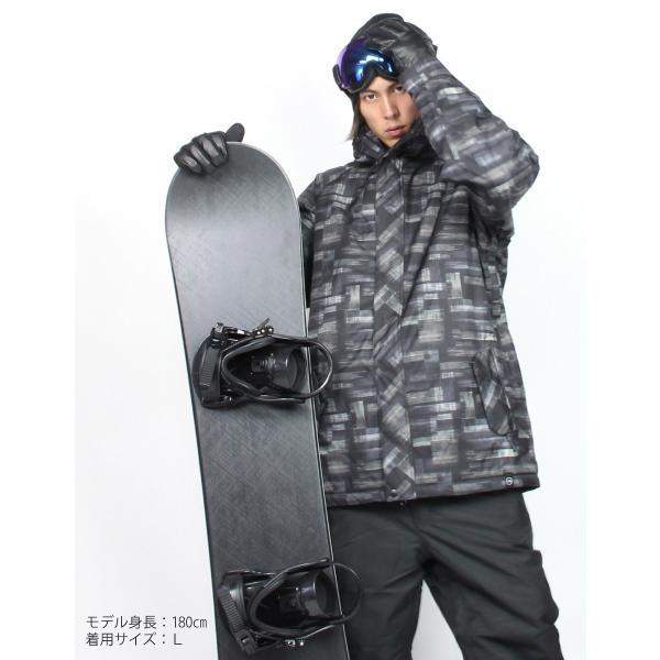 スノーボードウェア メンズ 上下セット ジャケット パンツ スノーボード ウェア egs 03