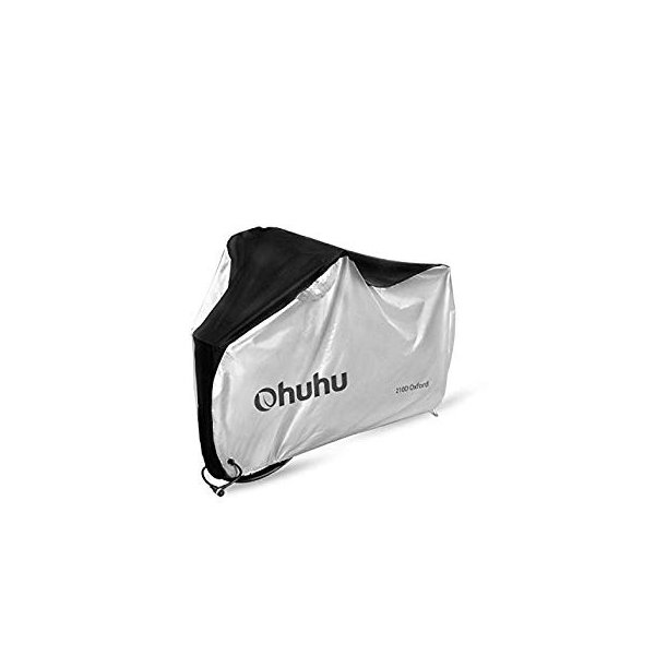 Ohuhu 自転車カバー 子供車用 210D オックス製 厚手 キッズ用 サイクルカバー 生地 防水 破れにくい 防犯 防風 UVカット 2|eh-style|11