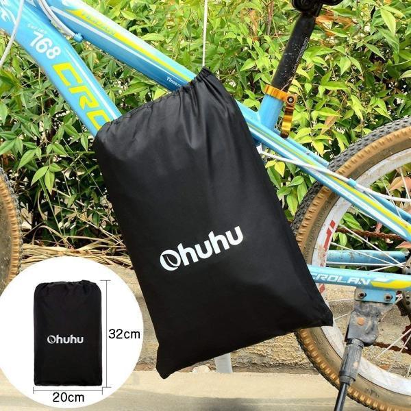 Ohuhu 自転車カバー 子供車用 210D オックス製 厚手 キッズ用 サイクルカバー 生地 防水 破れにくい 防犯 防風 UVカット 2|eh-style|06
