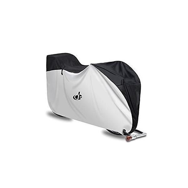 自転車カバー 子供乗せ 前後子供乗せ対応 防水 厚手 210D 撥水加工UVカット風飛び防止 収納袋付き 29インチまで対応 Double eh-style 14