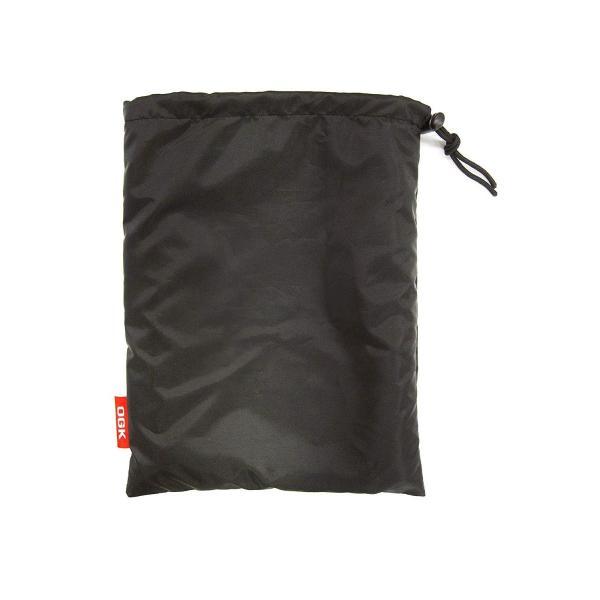 OGK技研 まえ子供のせ用ソフト風防レインカバー RCF-003 ハレーロ・ミニ ブラック 専用袋付|eh-style|02