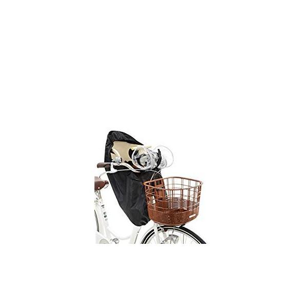 OGK技研 まえ子供のせ用ソフト風防レインカバー RCF-003 ハレーロ・ミニ ブラック 専用袋付|eh-style|06