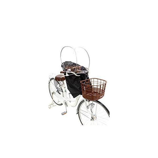 OGK技研 まえ子供のせ用ソフト風防レインカバー RCF-003 ハレーロ・ミニ ブラック 専用袋付|eh-style|09