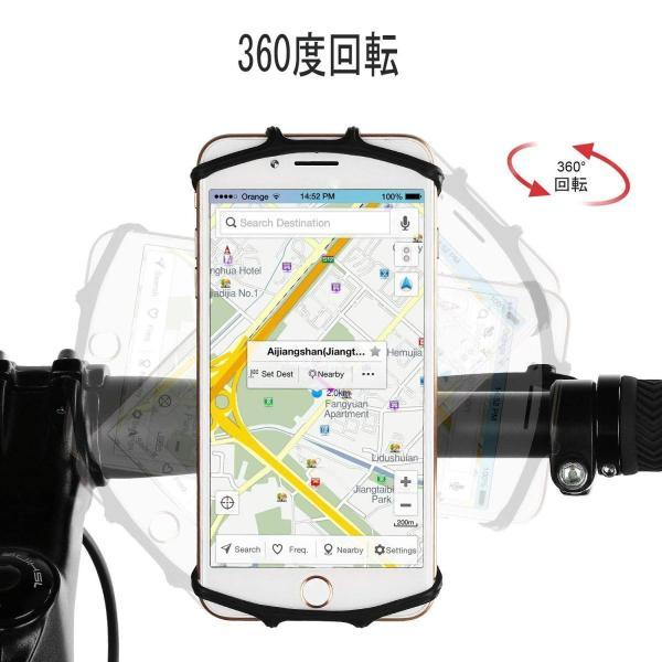 自動車ホルダー スマホホルダー 2019最新版携帯車載ホルダー 360°回転 4-6.5インチスマホ対応 iphone xs max And|eh-style|07