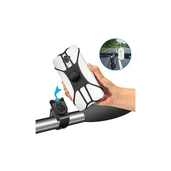 自動車ホルダー スマホホルダー 2019最新版携帯車載ホルダー 360°回転 4-6.5インチスマホ対応 iphone xs max And|eh-style|08