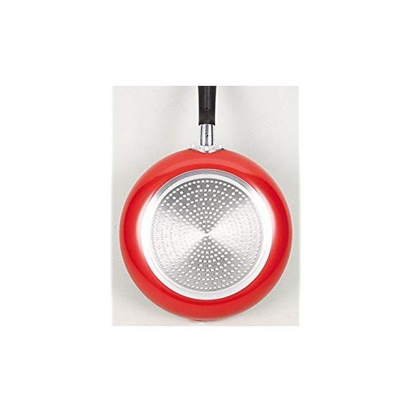 ワコートレーディング フライパン レッド 18? ふっ素加工IH対応 ニューフォア HB-8043|eh-style|09