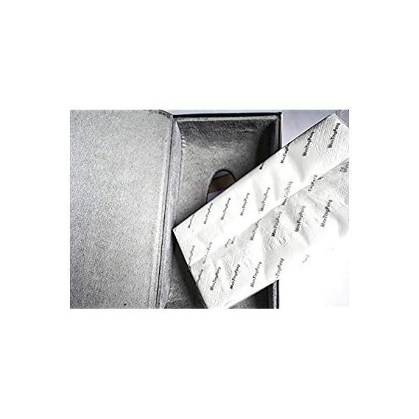 レクサス ティッシュケース カバー ロゴ入り アイボリーホワイト&ブラック ホワイトステッチ刺繍 シルバートリム レザー 各車種汎用 市販テ eh-style 19