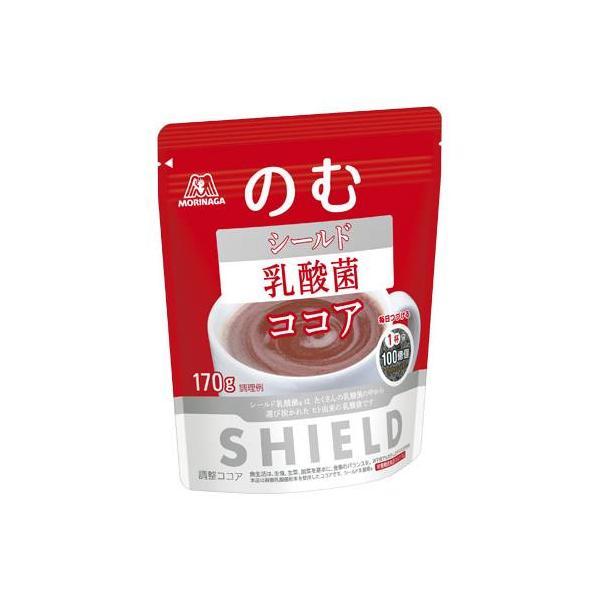 森永製菓 シールド乳酸菌ココア 170G×6個セット