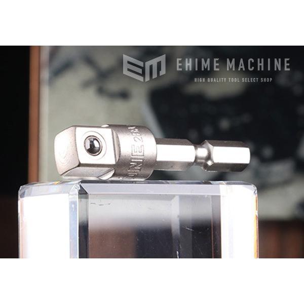 TONE トネ 電動ドリル用ソケットアダプター 2BA-12|ehimemachine