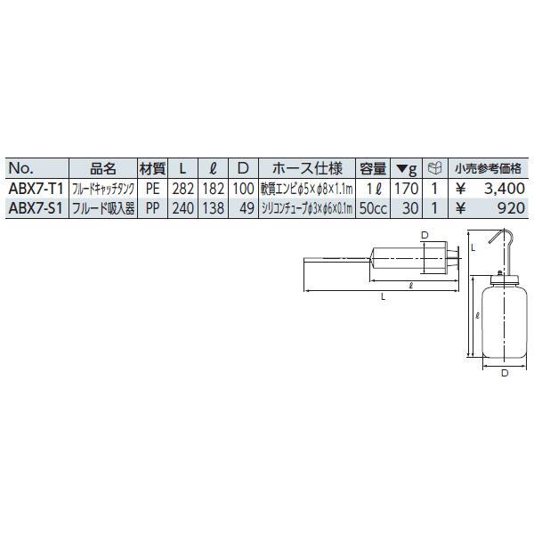 KTC フルード吸入器 ABX7-S1|ehimemachine|02