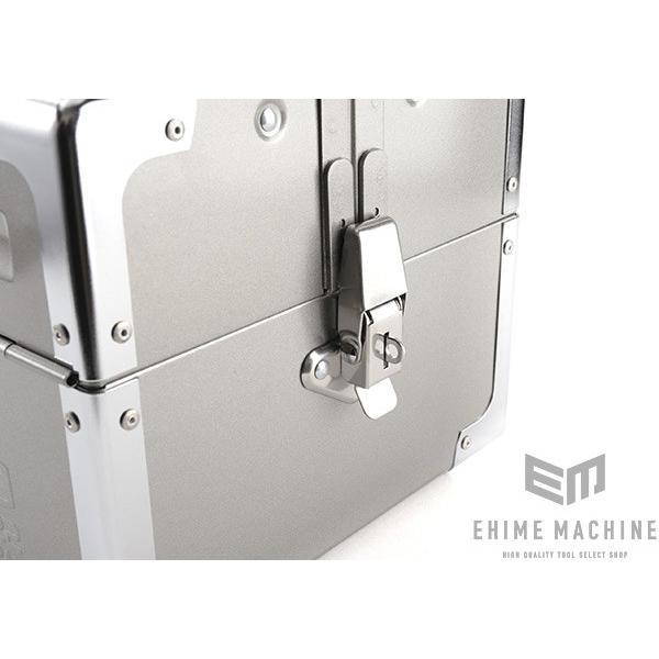 TONE トネ 両開きツールケース(メタリックシルバー) BX322SV|ehimemachine|09