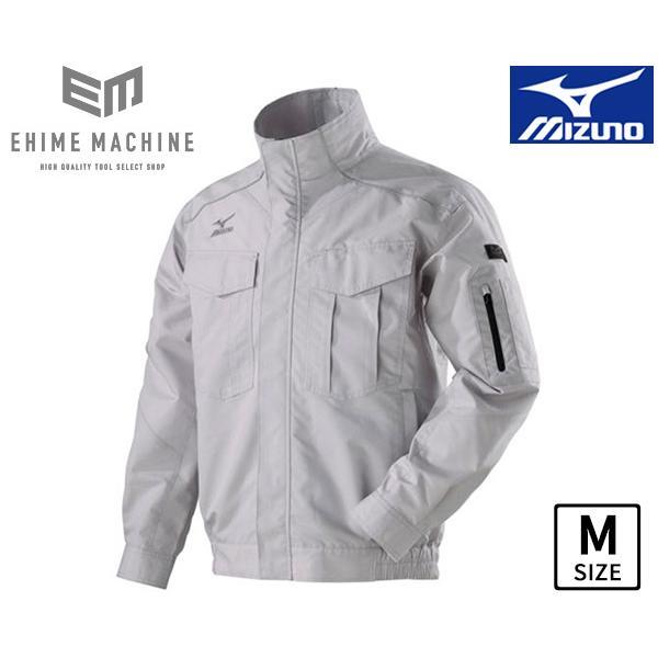 MIZUNO C2JE818004-M エアリージャケット Mサイズ グレー (ファン・バッテリー別売り) 空調服 作業着 作業服 ミズノ