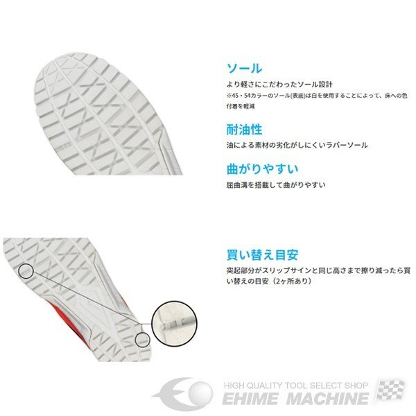[新製品] ミズノ 安全靴 オールマイティ VS 軽量タイプ F1GA180354 ワーキングシューズ|ehimemachine|13