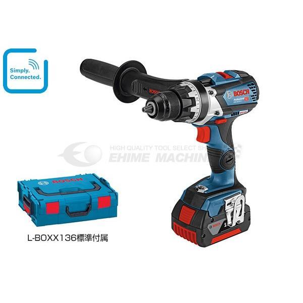 [新製品] BOSCH ボッシュ コードレスドライバードリル GSR 18V-85C (L-BOXX136付)|ehimemachine