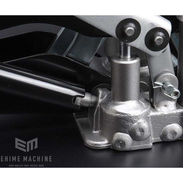 在庫有 マサダ 油圧式ジャッキ パンタグラフジャッキ 車載ケース付 MSJ-850|ehimemachine|05